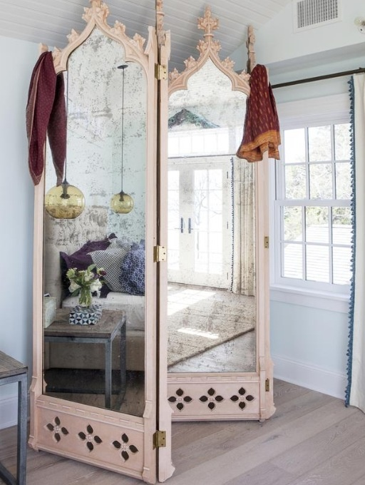 Middle-Eastern style vintage Bedroom Screen