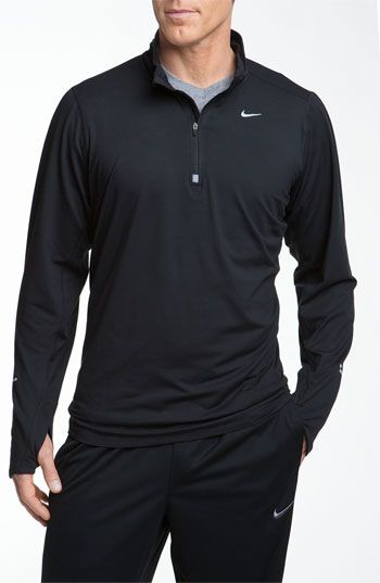Nike 'Element' Dri-FIT Half Zip Running Top available at #Nordstrom