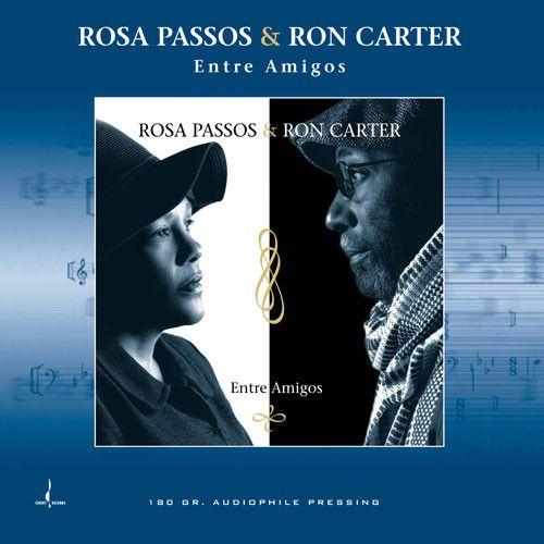 Rosa Passos & Ron Carter - Entre Amigos 180g LP Limited Edition 180g Vinyl LP June 2 2017 Pre-order