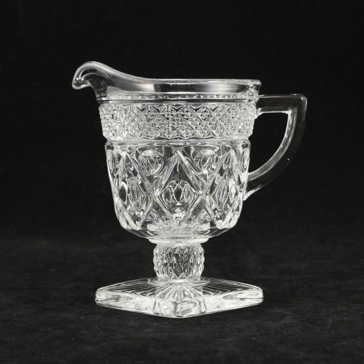 Ordinary Cape Cod Glass Company Part - 11: Cape Cod Imperial Glass Creamer Fancy Stem Vtg. $11.00, Via Etsy.