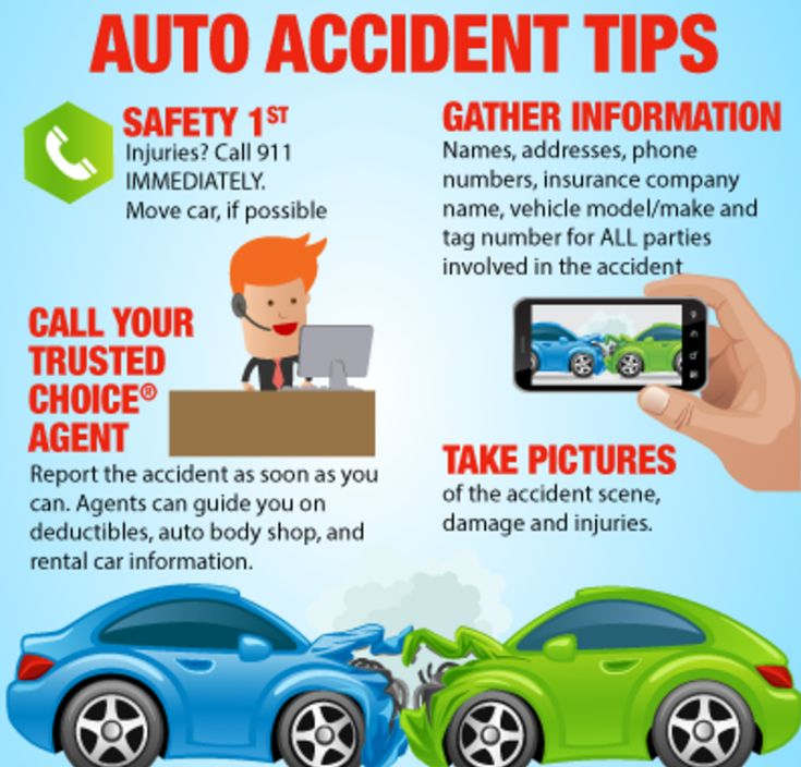 Don't know what to do in the case of an accident? Check out these 4 auto accident tips we think you'll find useful!   #accident #tips #cartips