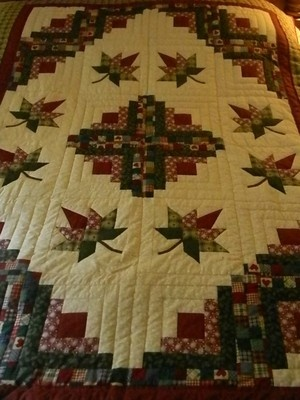 Lancaster County Amish Handmade Quilted Cabin Splendor