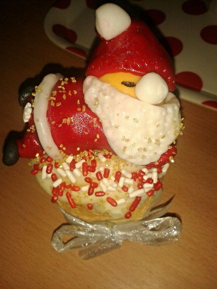 Muffin Santa