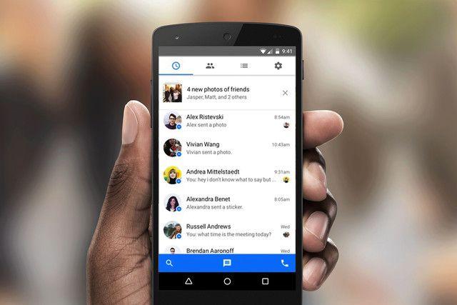 Android İçin Messenger Uygulaması Değişiyor!