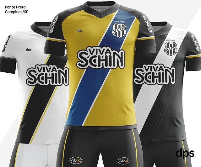 E se fosse assim - Associação Atlética Ponte Preta (SP) - Show de Camisas