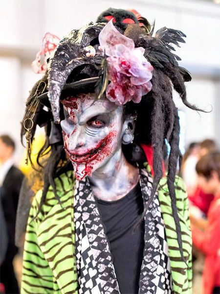 30 scary halloween make up looks trends ideas halloween makebest halloween costumestokyo - Best Scary Halloween Costume