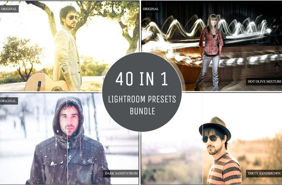 Check out 40 in 1 - Presets Bundle by ONESMFAPRO on Creative Market