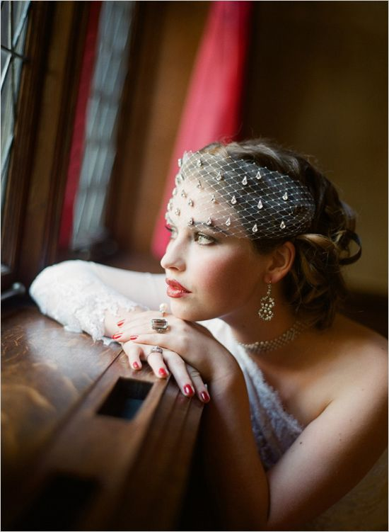 Great Gatsby Bridal Inspiration — Satin & Snow