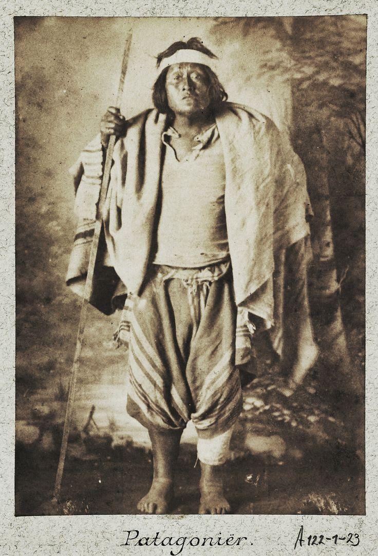 Aonikenk, Punta Arenas, 1888 (original)