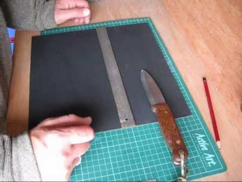 ▶ Bushcraft - How To Make A Kydex Knife Sheath - Part 1 - YouTube