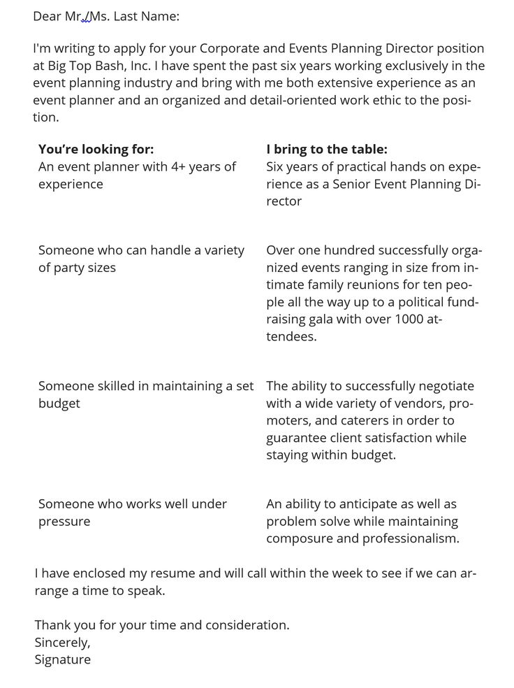 The Best Cover Letter Format For 2019 3 Sample Templates Real Life Sample Resume Cover