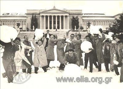 Κι όμως κάποτε χιόνιζε τα Χριστούγεννα και στην Αθήνα: Εχει συμβεί 11 φορές – Στατιστικά στοιχεία από το 1902! | iefimerida.gr