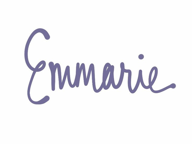 Emmarie. Emory and Emery were originally male names from Emmerich. This version combines Emma and Marie to make it more feminine. See more baby name pins at http://www.pinterest.com/meggiemaye/for-love-of-names/