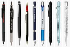 Cool Material: 9 Mechanical Pencils for Your Everyday Carry
