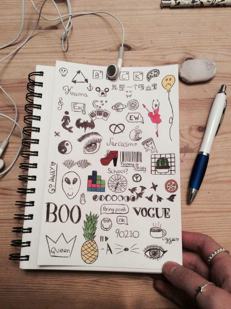 Doodles | Easy doodle art, Doodle art drawing, Simple doodles
