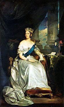 Retrato da Rainha Vitória, 1843. Francis Grant.