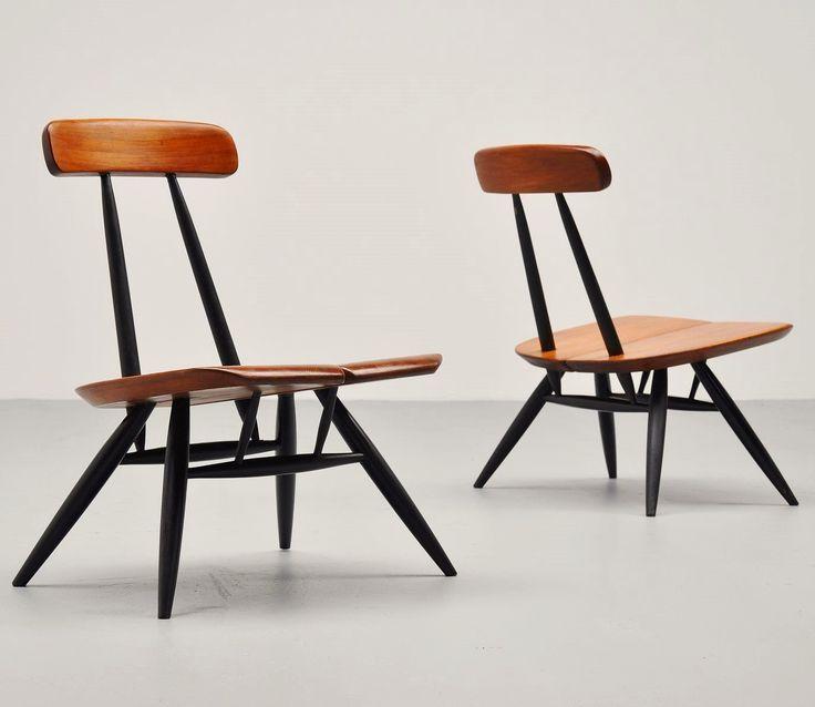 Ilmari Tapiovaara, 'Pirkka' chairs, 1955