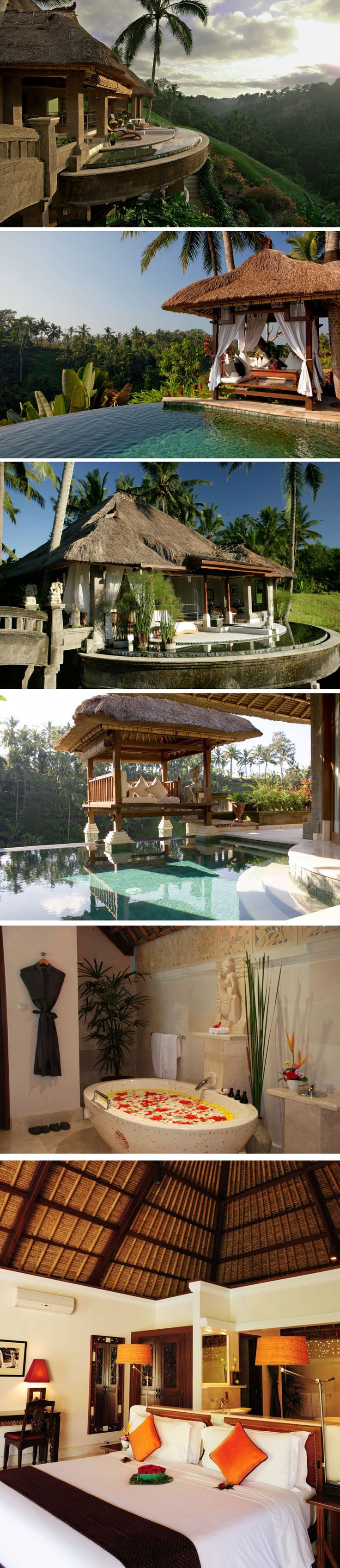 Viceroy Resort & Spa, Bali. Located on a hillside near Bali's Valley of the Kings.