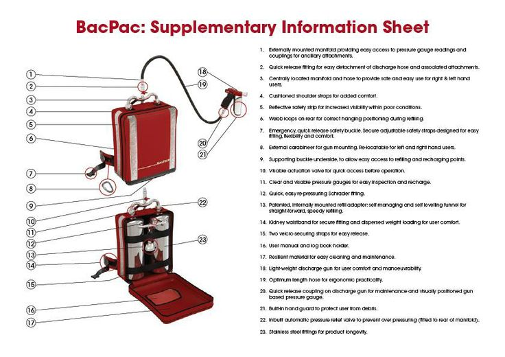 Tell me about the BacPac - explanation of the product - worth a read to familiarise yourself.