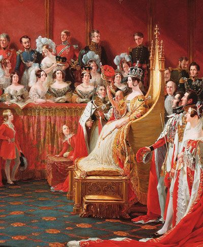 Queen Victoria ... The Coronation Chair and the Stone of Scone, by Warwick Rodwell