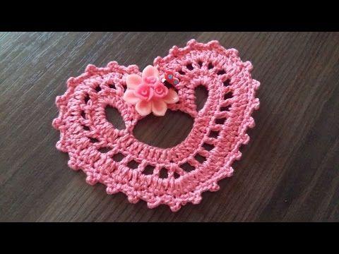 334 best Crochet Hearts images on Pinterest | Crochet hearts ...