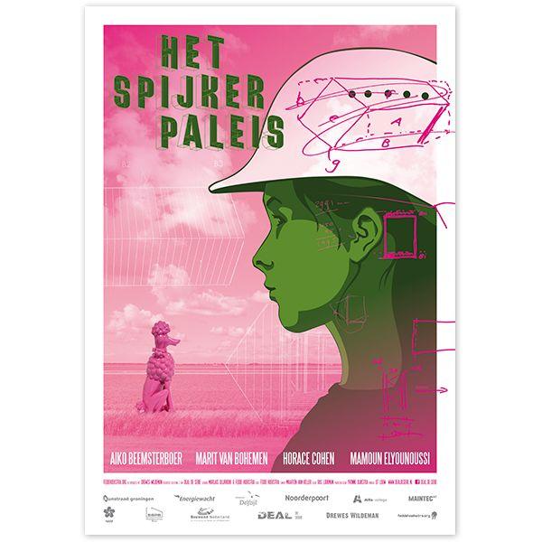 Filmposter Het Spijkerpaleis By studio Hille / Hilda Groenesteyn