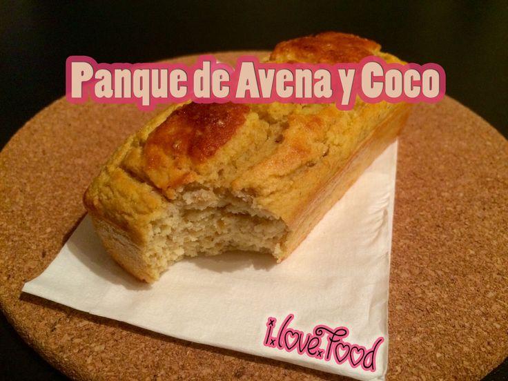 Panque de Avena y Coco