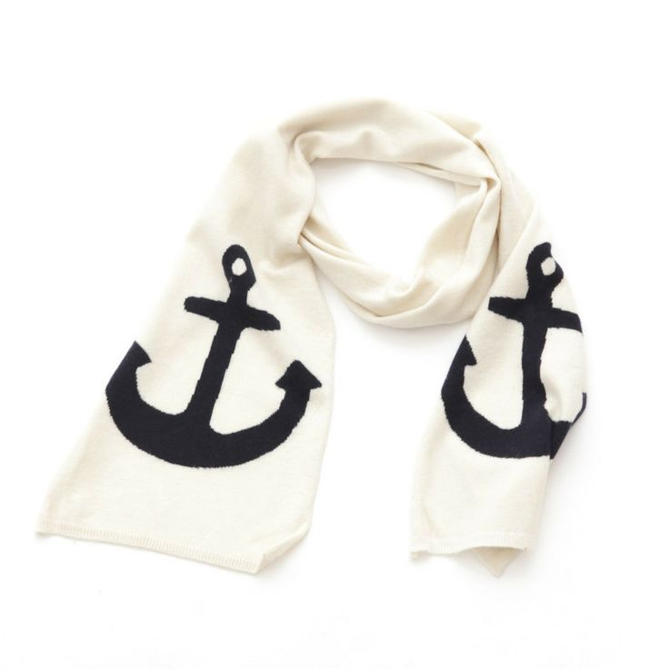 Cashmere Anchor Scarf