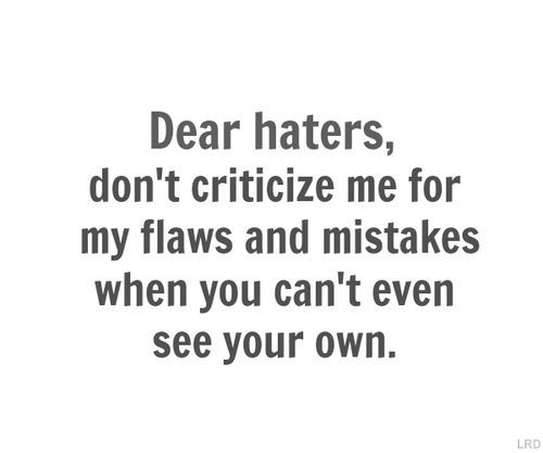 StyleGerms | 30  Quotes For Haters | http://stylegerms.com