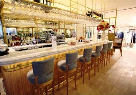 Indulgence - The Corner Restaurant & Champagne Bar opens at Selfridges