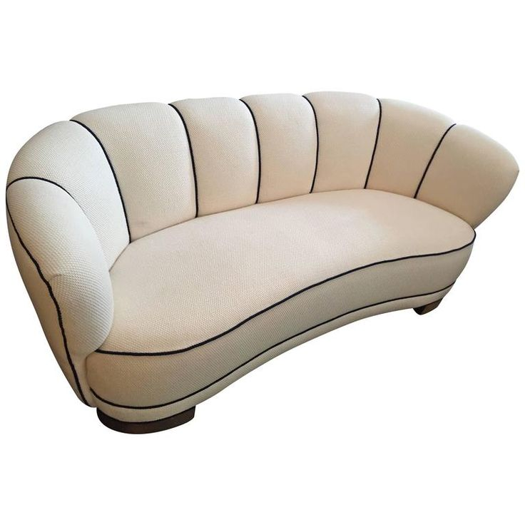 Swedish Art Deco Sofa | From a unique collection of antique and modern sofas at https://www.1stdibs.com/furniture/seating/sofas/