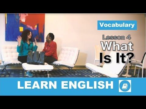 English Course Lesson 4 – Vocabulary Exercise
