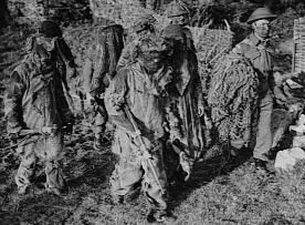 Home Guard camouflage training