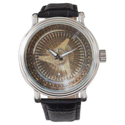 Lowrider Low Rider Wire Wheels Wrist Watch - accessories accessory gift idea stylish unique custom