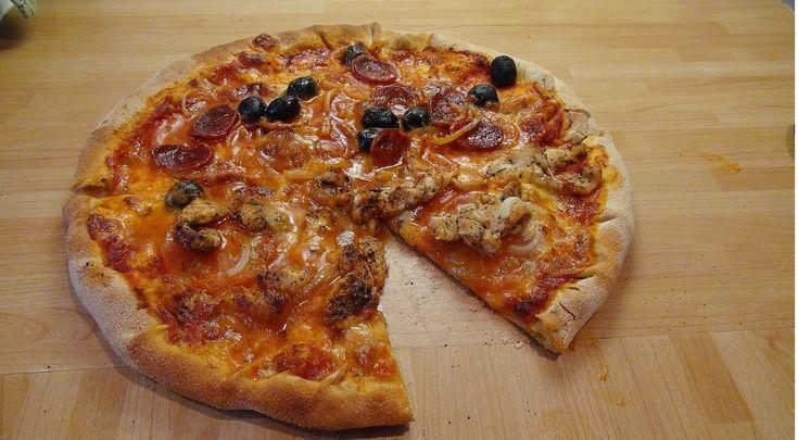 MEGA Zajebiste  ciasto na Pizze