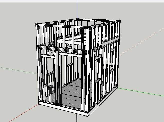 8x10 shed plans 8 by 16 flatbed Issa yard Pinterest