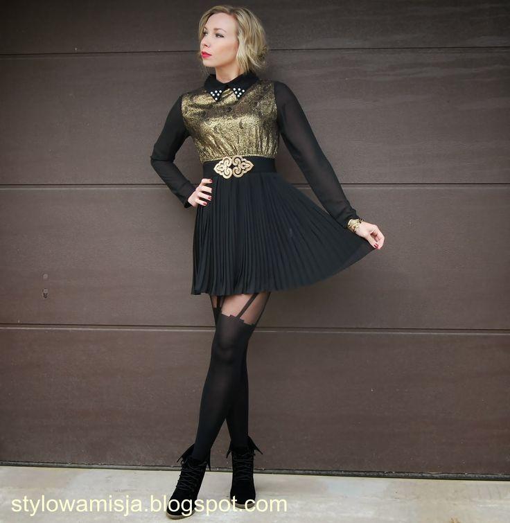 Stylowa Misja: BAROKOWA SUKIENKA | BAROKOWY PRZEPYCH #fetishpantyhose #pantyhosefetish #legs #heels #blogger #stiletto #pantyhose #collant #black