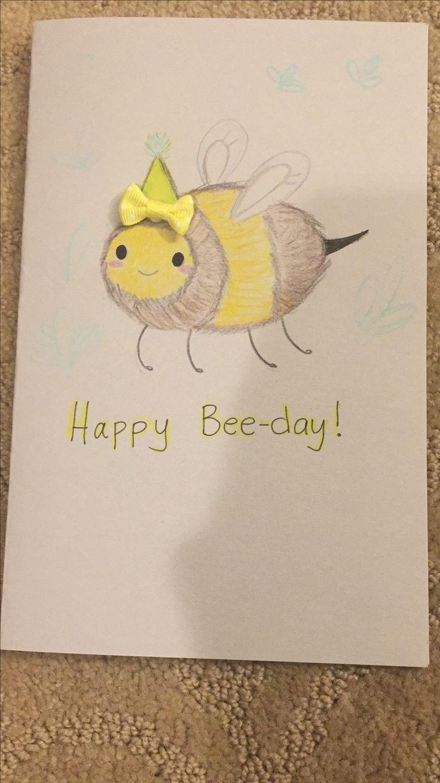 Cute birthday card idea by Sarah Sohail