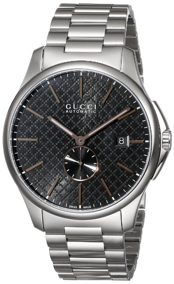 "Men watches | Gucci Men's YA126312 ""G-Timeless"" Collection Swiss Automatic Watch Top men watches"