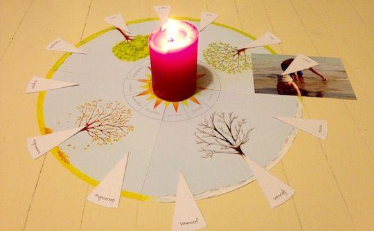 Loisirs créatifs : Ma pochette Montessori anniversaire - Adeline CHARNEAU ; illustrations de Roberta ROCCHI