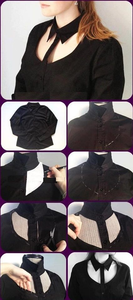 Chic Look with a Cut Out Shirt – DIY