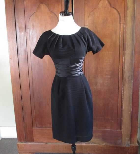 1960s little black dress