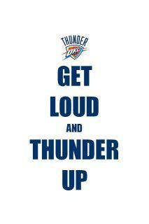 OKC Thunder Baby!! so ready for the season to start!!!