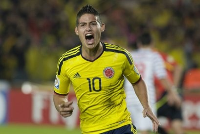 Seleccion Colombia, James Rodriguez