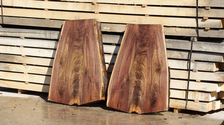 American Walnut Crotch Slab Wood Table Top