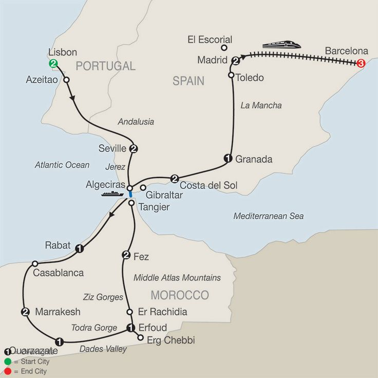 Add Barcelona Tours to This Spain, Portugal & Morocco Tour