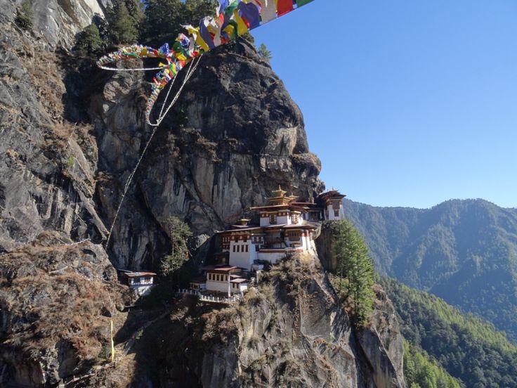 Tiger's nest. Bhutan.
