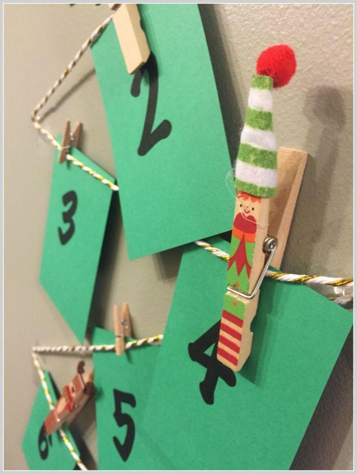 Diy Calendar Supplies : Diy advent calendar more christmas decorating ideas