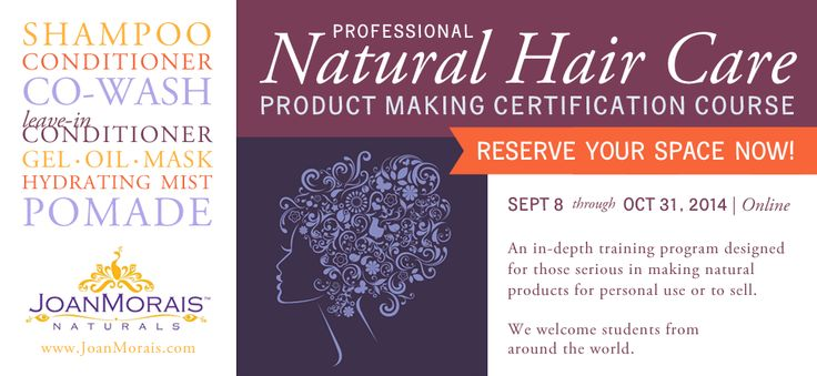 natural skin care courses online