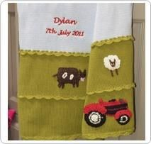 Personalised blanket - Tractor - PetitePeople, Blanket
